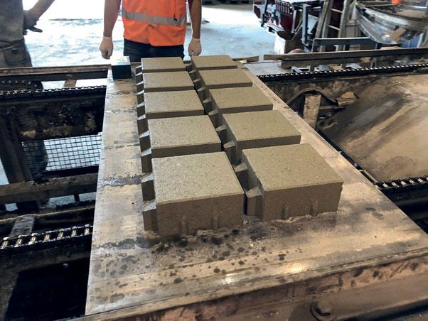 pavé drainant ciment