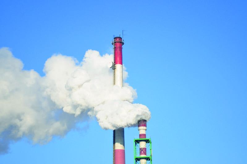 L'empreinte carbone de l'industrie cimentière.